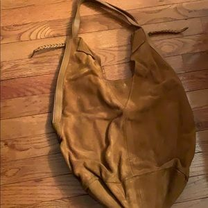 Anthropologie Suede Boho Bag